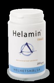 Helamin Trace 200 kapslar och Helavit IDEAL 200 kapslar
